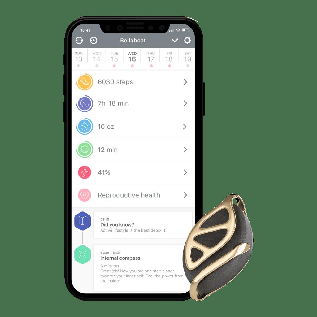 Bellabeat app and Bellabeat Leaf Urban device